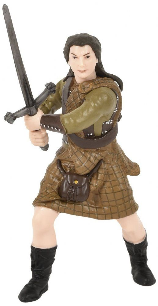 Papo 39944 Sir William Wallace Knight of Scotland Sword Figure Model Figurine